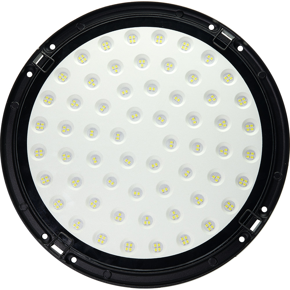 "AL1004 ""High bay""  2835 SMD 200W 120° 6400K IP65 AC175-265V/50Hz,черный 310*88мм"